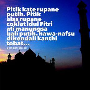 Gambar Kata Kata Lebaran Bahasa Jawa 290x290 Gambar Kata Ucapan Idul Fitri Bahasa Jawa