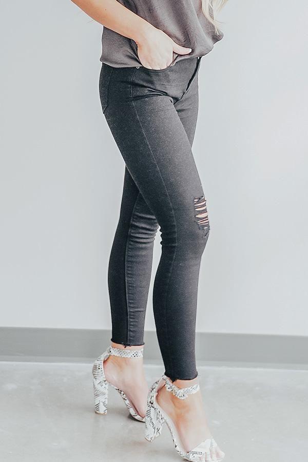 c42424cec2a00 The Bobbi High Waist Distressed Skinny In Black | My Style | Skinny, Black, Skinny  Jeans