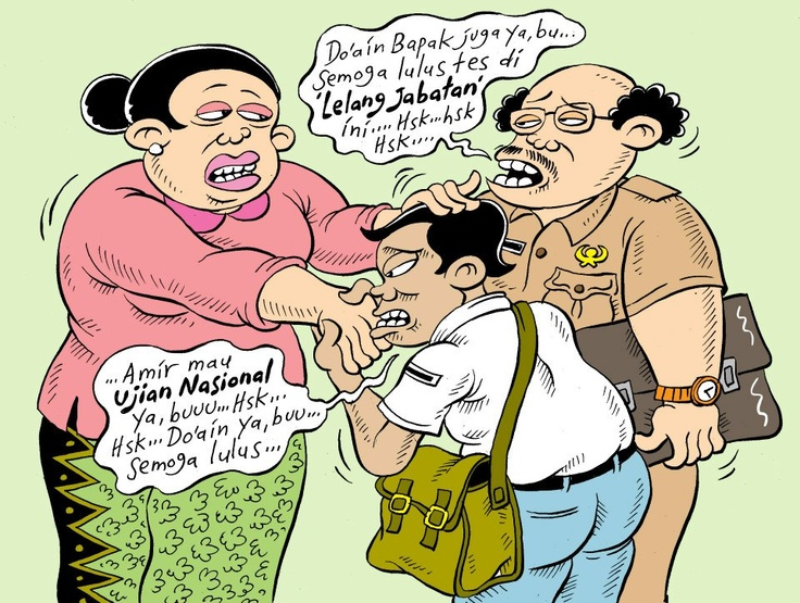 Mice Cartoon: Edisi UN (Rakyat Merdeka)