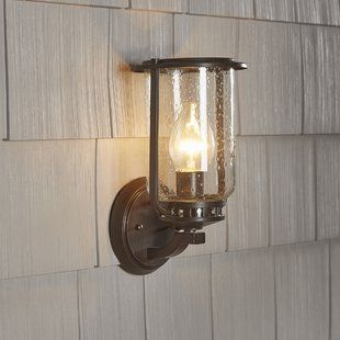 Shop Birch Lane for traditional and farmhouse Outdoor Wall Lights & Flush Mounts to match your style and budget. Enjoy Free Shipping on most stuff, even big stuff.