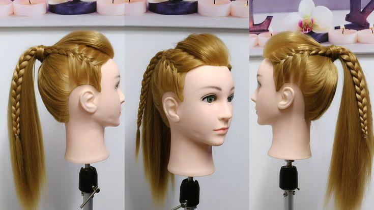 Peinados con Trenzas 2 Estilos Diferentes Coleta o Moño Alto / Belleza sin Limites