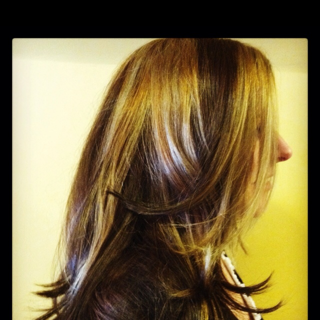 Color by the team at ciro's during a Wella color spring 2012 trends class