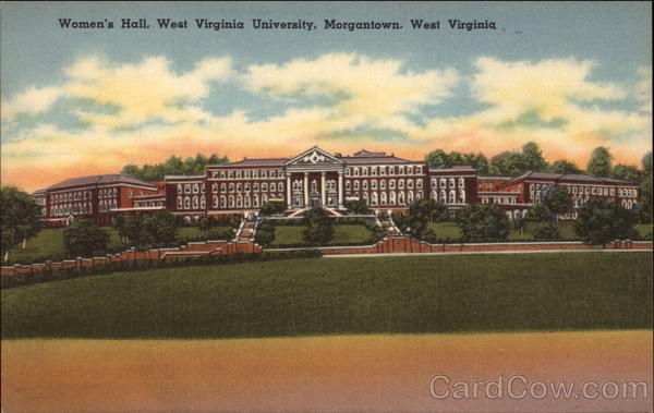 Womenu0027s Hall, West Virginia University In Morgantown    Now Stalnaker Hall  | West Virginia | Pinterest | West Virginia University, Virginia University  And ... Part 85