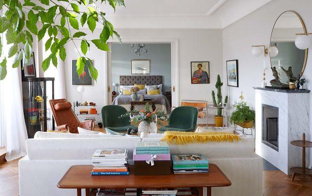 Bunter Raum Mit Anregendem Dekor Home Decor Inspiration
