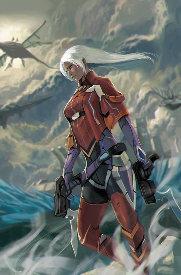 Xenoblade Chronicles X - More Elma. She's too cool.