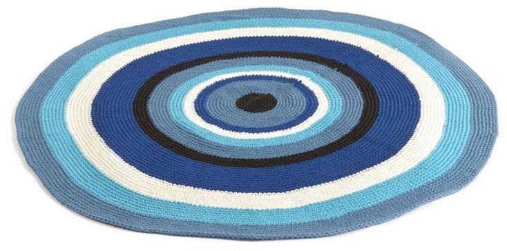 Smallstuff Matte Stripete Blå | Barnerommet Tekstiler | Jollyroom