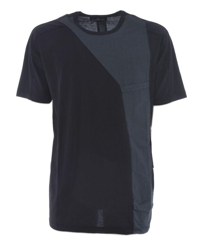 STONE ISLAND SHADOW COLOR BLOCK T-SHIRT. #stoneislandshadow #cloth #