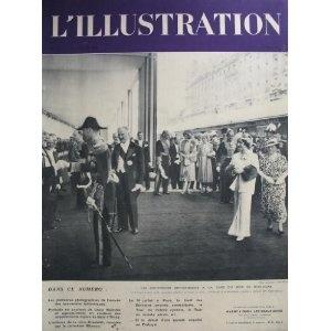 L'Illustration - n°4977 - 23/07/1938 - Arrivée des souverains britanniques à la gare du bois de Boulogne [magazine mis en vente par Presse-Mémoire]