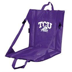 TCU Texas Christian Stadium Seat With Back