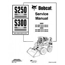 Bobcat S250, S300 Turbo (Includes High Flow) Service