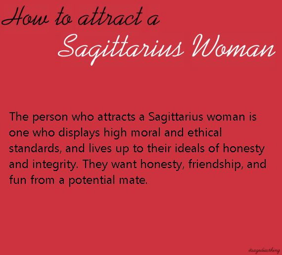 Who is compatible with sagittarius woman have