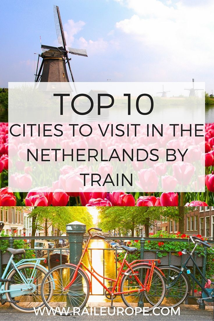 Our handy guide to the Top 10 Cities to Visit in The Netherlands by #Train ! Read on for helpful tips, expert advice, & of course many pretty photos: http://www.raileurope.com/blog/11004-top-cities-in-the-netherlands