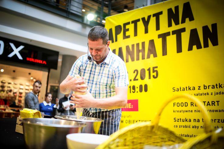 Główną atrakcją eventu było wspólne gotowanie z gwiazdą Masterchefa - Charlesem :) Uczestnicy nie tylko mieli możliwość podglądania kucharskich tricków, ale również mogli spróbować dań :) MNIAM!