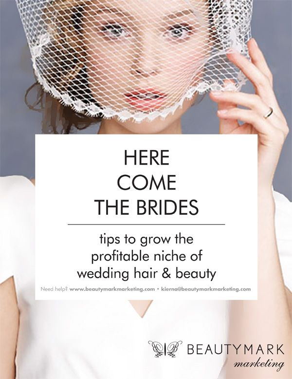 If you want more brides walking through your salon door, try these 8 tips to grow this profitable niche for your salon. #beautymarkmarketing