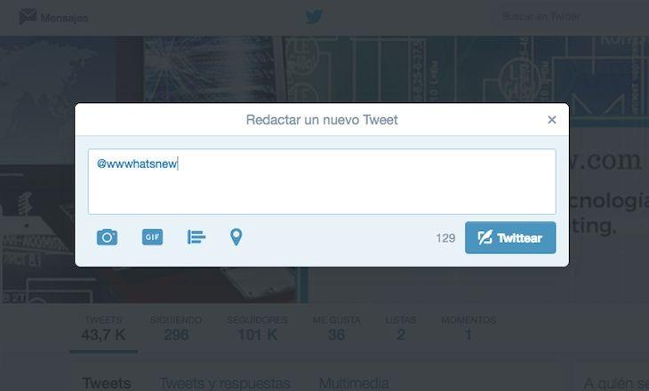 #Twitter #Internet #Redes_Sociales Twitter dejará de contar los nombres de usuarios en el límite de caracteres de las respuestas