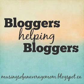 Musings of an Average Mom: Bloggers Helping Bloggers #4