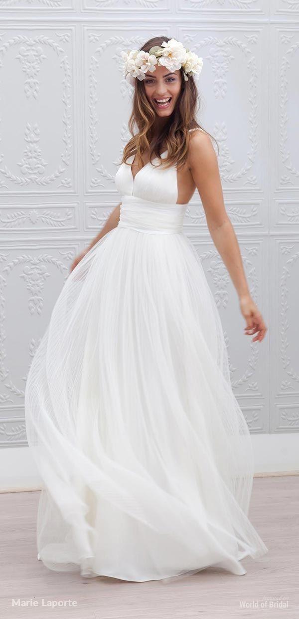 Marie Laporte 2015 Wedding Dress