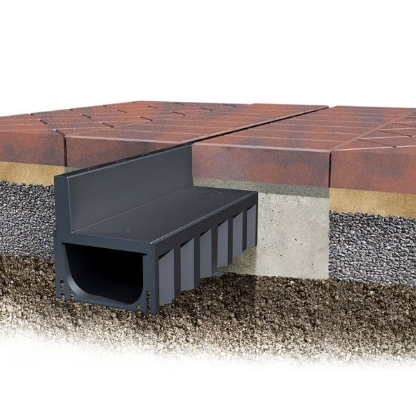Aco Brickslot Hexdrain Slot Drain Channel A15 1m Drainage Superstore Drainage Superstore Drainage Channel Drainage Drain
