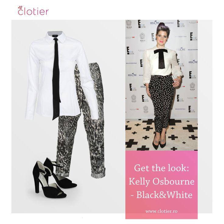 Get The Look: Kelly Osbourne – Black&White ‹ Clotier http://www.clotier.ro/blog/2014/08/27/get-the-look-kelly-osbourne-blackwhite/?utm_source=Pinterest&utm_medium=Board&utm_campaign=Blog%20Clotier&utm_content=Get%20the%20look