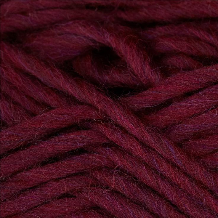 Patons Classic Wool Roving Yarn Plum from @fabricdotcom