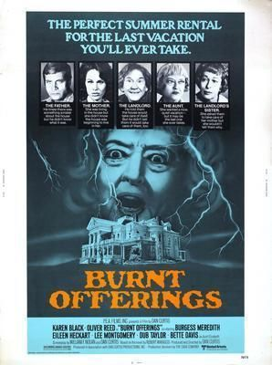 Burnt Offerings Movie Poster Standup 4inx6in