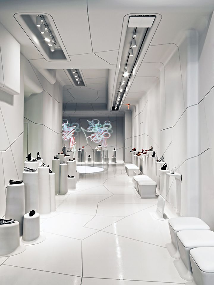 Melissa Shoes store, New York