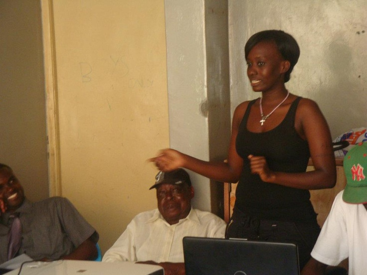 Tabitha is the amazing and inspirational director of our partner organisation in Kenya, Migosi Family Hope Society