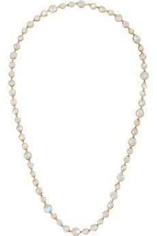 MUNNU The Gem Palace 22-karat gold moonstone necklace | $11,000 | NET-A-PORTER