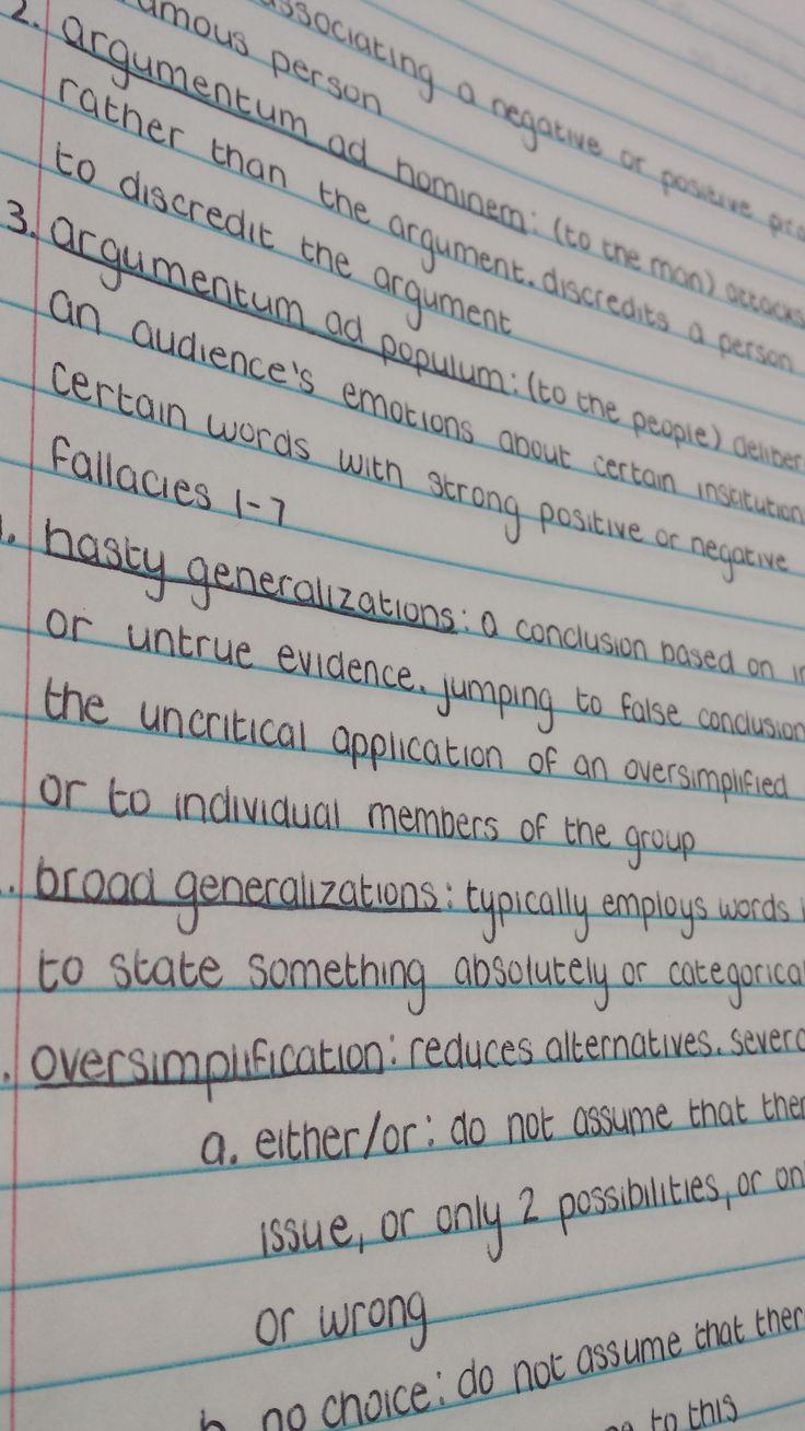 My AP Lang notes - Imgur