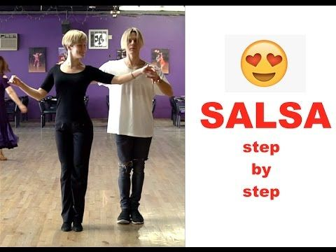 !!! SALSA !!! - HOW To Dance SALSA with style ??? - CHOREOGRAPHY - step by step - YouTube