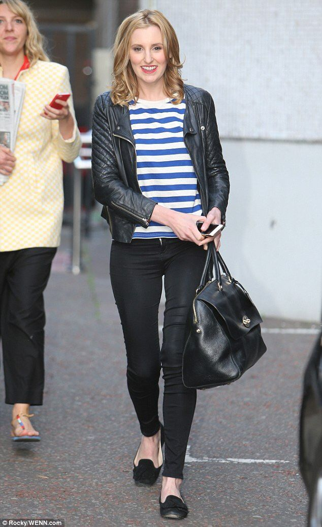 Outside of ITV Studios this morning #laura carmichael #downton abbey #posting on the go 1 day ago on June 10, 2015 at 11:39am ..