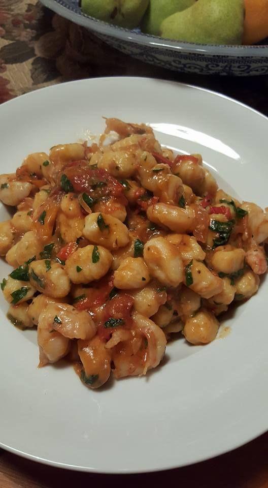 Prawn Potato Gnocchi