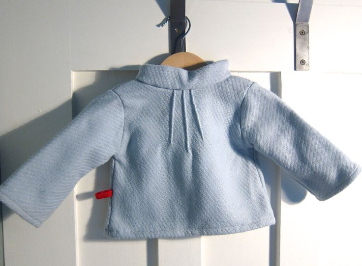 Downsized Heidi and Finn Pin-tuck Sweater made for my daughter when she was 6 mths old