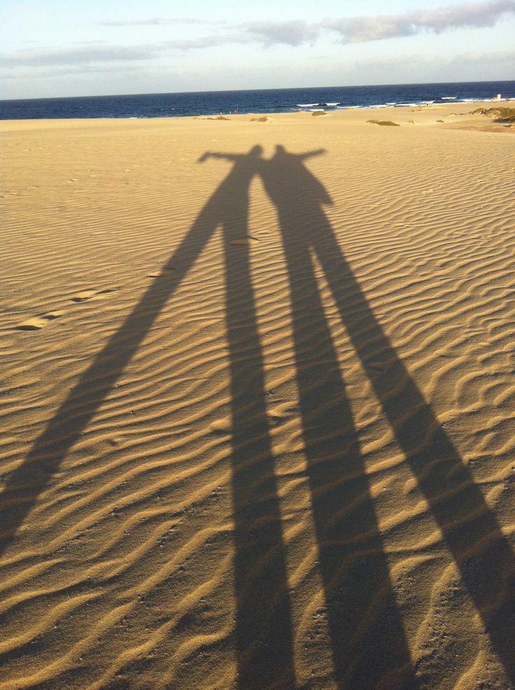 Ombre sulla sabbia