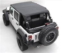 FREE SHIPPING!! - Part Number: 94635 - Fits 2010 to 2016 Wrangler Unlimited and Rubicon Unlimited - 4-door models - Black diamond - Protection from the elements for front and rear passengers - Constru