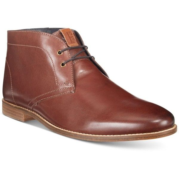 Ben Sherman Men's Gaston Chukka Boots ($135) ❤ liked on Polyvore featuring men's fashion, men's shoes, men's boots, dark brown, ben sherman mens shoes, mens leather chukka boots, mens shoes chukka boots, mens leather shoes and mens shoes
