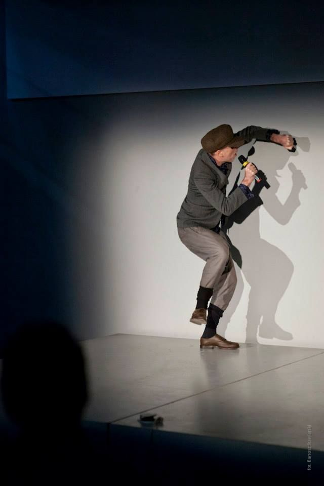 "Momus in the performance titled ""Failed comedy"". WIthin the frames of ""The Book Lovers"" conference."
