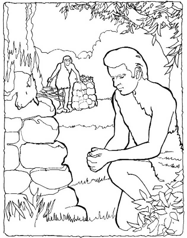 22 best bible - cain and abel images on pinterest | cain and abel ... - Bible Coloring Pages Cain Abel
