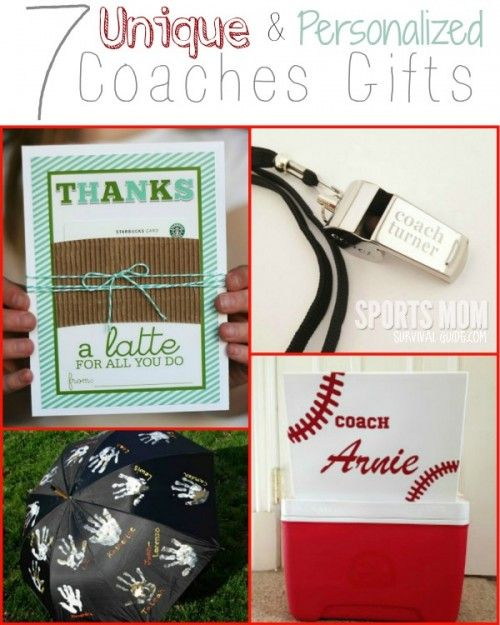 7 Unique and Personalized Coaches Gifts - Sports Mom Survival Guide