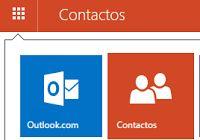 Como buscar contactos desde tu correo Outlook