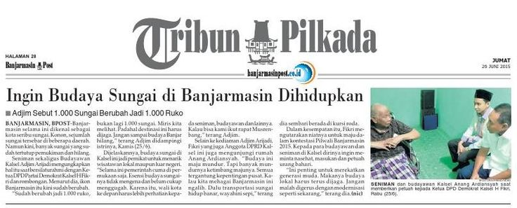#ClippedOnIssuu from Banjarmasin Post Jumat, 26 Juni 2015