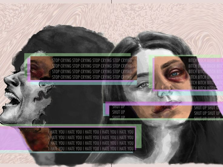 Mixed Mediums. A project for school in which we must demonstrate the effects of a tiny glitch. Often times, domestic abuse goes unnoticed: the victim does not always want people to know what is rea…