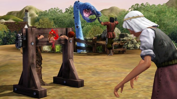 The Sims Medieval brings some irony to this popular series of life simulations. Whereas the proper Sims games make the mundane aspects of everyday life interesting, this Renaissance faire spin-off takes interesting concepts and makes them mundane.  http://games.torrentsnack.com/the-sims-medieval-pc/ - free download