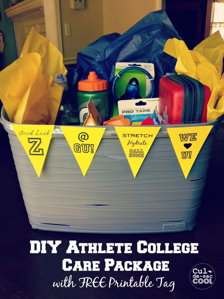 Creative College Care Package Ideas (MILITARY)