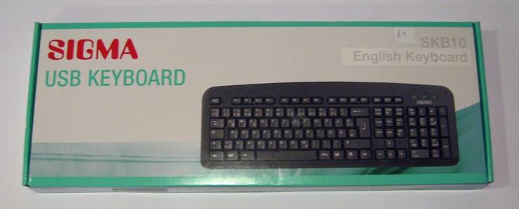 Sigma USB English Keyboard £12.00