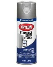 Stainless Steel Finish - | Krylon