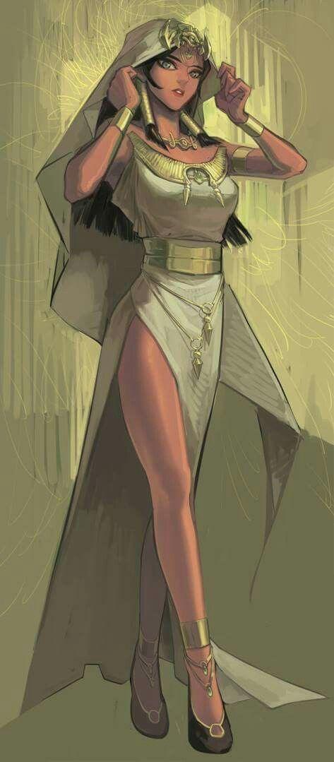 Sacerdotisa del clan Isktar de Egipto, es la reencarnación de la Diosa Isis y fue una portadora de una de las 7 piezas milenarias que ahora están en manos de WesKer