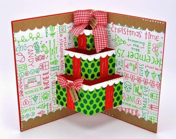 die besten 25 pop up karten selber machen weihnachten. Black Bedroom Furniture Sets. Home Design Ideas
