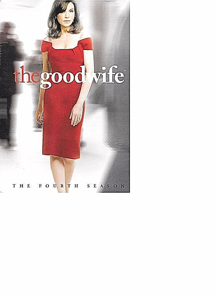 The Good Wife Season 4 MARGULIES BRAND NEW SEALED FREE SHIPPING TRACKING CONT US #NotApplicable