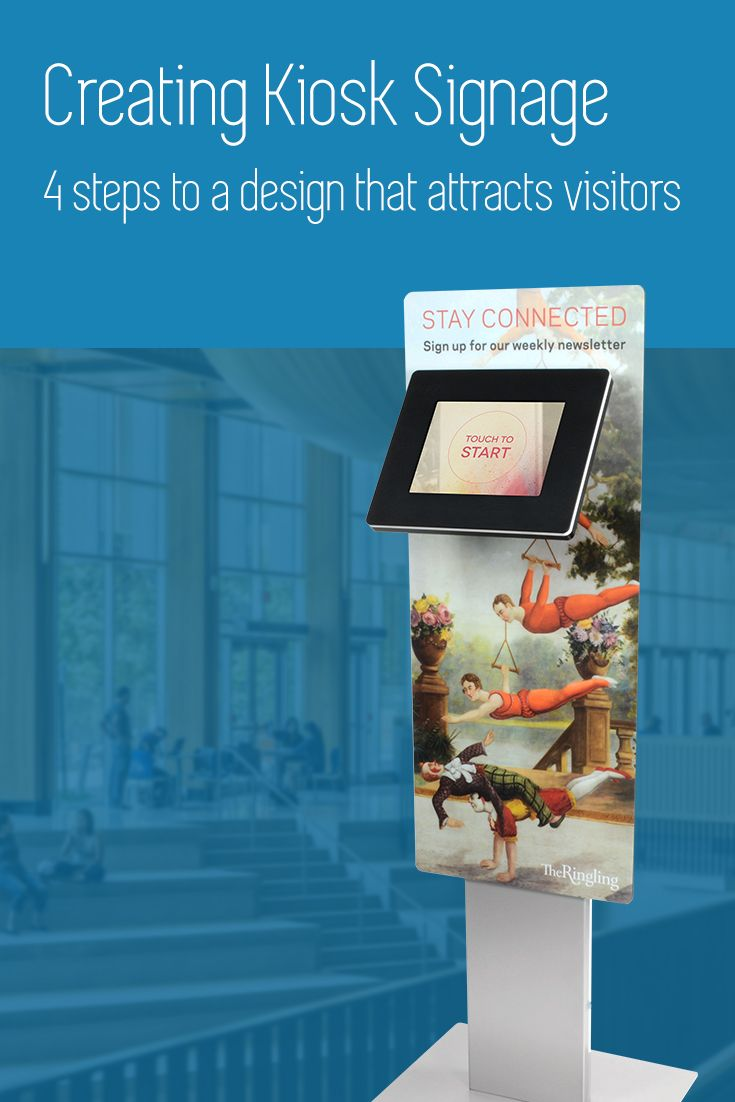 Well designed branding will drive traffic to your kiosk from day one, ensuring that your project is a success.  Here's how to make sure your design works:  http://www.ipadkiosks.com/blogs/articles/creating-effective-kiosk-signage